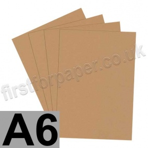 Rapid Colour Paper, 120gsm, A6, Nougat Brown