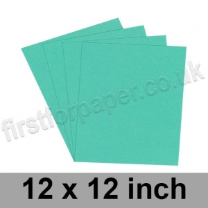 Rapid Colour Card, 160gsm, 305 x 305mm (12 x 12 inch), Ocean Green