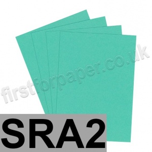 Rapid Colour Paper, 120gsm, SRA2, Ocean Green