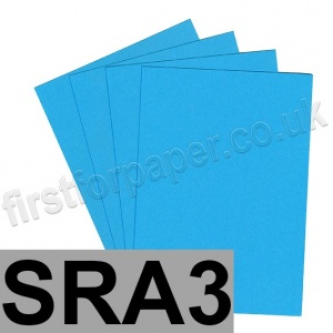 Rapid Colour Paper, 120gsm,  SRA3, Peacock Blue