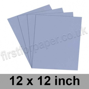 Rapid Colour Card, 225gsm, 305 x 305mm (12 x 12 inch), Pigeon Blue