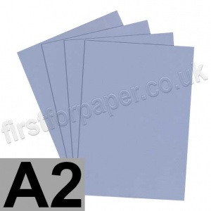 Rapid Colour Paper, 120gsm, A2, Pigeon Blue