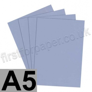 Rapid Colour Card, 225gsm, A5, Pigeon Blue