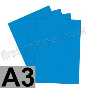 Rapid Colour Card, 160gsm, A3, Rich Blue