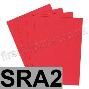 Rapid Colour Card, 160gsm, SRA2, Rouge Red