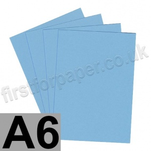 Rapid Colour Paper, 120gsm, A6, Sky Blue