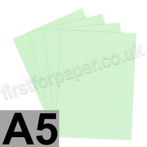 Rapid Colour Card, 160gsm, A5, Tea Green