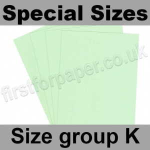 Rapid Colour Card, 160gsm, Special Sizes, (Size Group K), Tea Green