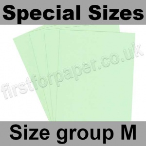 Rapid Colour Card, 160gsm, Special Sizes, (Size Group M), Tea Green