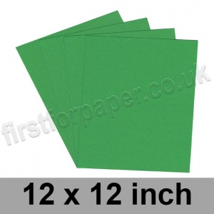 Rapid Colour Paper, 120gsm, 305 x 305mm (12 x 12 inch), Woodpecker Green