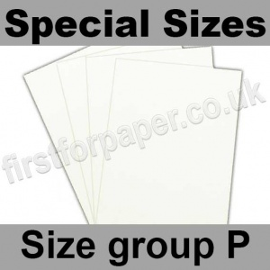 Ruskington, 120gsm, Special Sizes, (Size Group P), Milk White