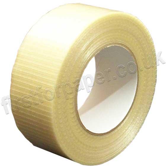 18X Cross Weave Filament Tape 48MM X 45M Cross direction filaments extra strength