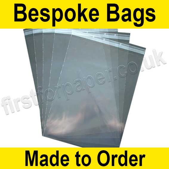 Cast Polypropylene Bag, with re-seal flaps, Size 240 x 710mm