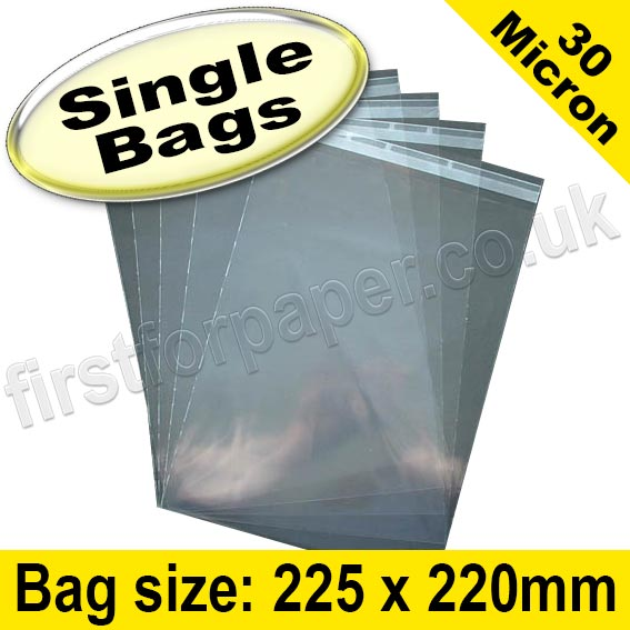 1000 A6//C6 162mm x 119mm Clear Cellophane Greeting Card Peel /& Seal Display Bags