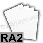 U-Stick, Uncoated, Solid Back, Self Adhesive 300gsm Card, RA2, White