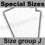 Swift White Card, 250gsm, Special Sizes, (Size Group J)