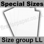 Swift White Card, 250gsm, Special Sizes, (Size Group LL)