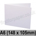 Swift, Pre-creased, Single Fold Cards, 250gsm, 148 x 105mm, White