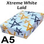 Advocate Laid, 100gsm, A5, Xtreme White