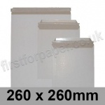 All Board Envelopes, 260 x 260mm - Box of 100