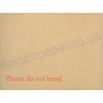 Board Backed Envelopes, Manilla, 241 x 178mm - Box of 125