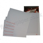 Board Backed Envelopes, White, C4 - Box of 125