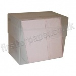 Double Depth Clear Plastic Business Card Boxes