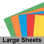 Craft & Hobby, Card Pack, Bright Shades, 25 large sheets