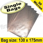 Cello Bag, with plain flaps, Size 130 x 175mm