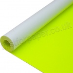 Centura Neon, Dayglo Fluorescent Paper Roll, 760mm x 10mtr, Yellow