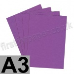 Colorset Recycled Card, 350gsm,  A3, Amethyst