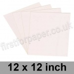 Colorset Recycled Paper, 120gsm, 305 x 305mm (12 x 12 inch), Blush