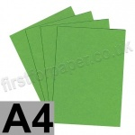 Colorset Recycled Card, 270gsm,  A4, Lime