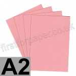 Colorset Recycled Card, 350gsm, A2, Pink Ice