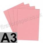 Colorset Recycled Card, 350gsm,  A3, Pink Ice