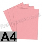 Colorset Recycled Card, 350gsm,  A4, Pink Ice