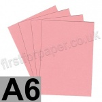 Colorset Recycled Card, 350gsm,  A6, Pink Ice