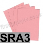 Colorset Recycled Card, 350gsm,  SRA3, Pink Ice