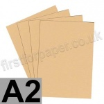 Colorset Recycled Card, 350gsm,  A2, Sandstone