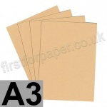 Colorset Recycled Card, 350gsm,  A3, Sandstone