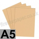 Colorset Recycled Card, 350gsm,  A5, Sandstone