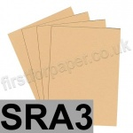 Colorset Recycled Card, 350gsm,  SRA3, Sandstone