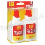 PVA Glue Bottles 60g (4 Pack)