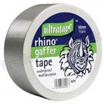 Cloth Tape, Silver Heavy Duty, 50mm X 10m