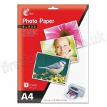 Glossy Inkjet Photo Paper, 235gsm, A4 - 8 sheets