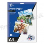 Matte Inkjet Photo Paper, 235gsm, A4 - 8 sheets