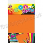 Neon Card, 20 Assorted Sheets