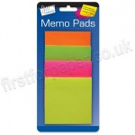 Memo Stickers 75mm Square, pack of 200