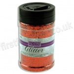 Icon Glitter, Medium Sized Flake, 110g - Red