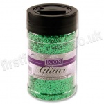 Icon Glitter, Medium Sized Flake, 110g - Green